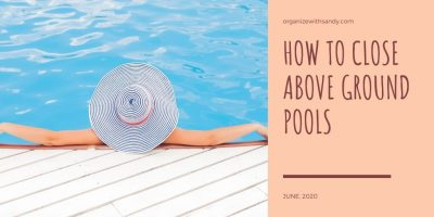 How to Close Above Ground Pools