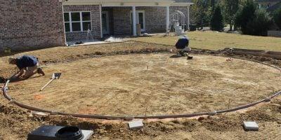 Above Ground Pool Installation