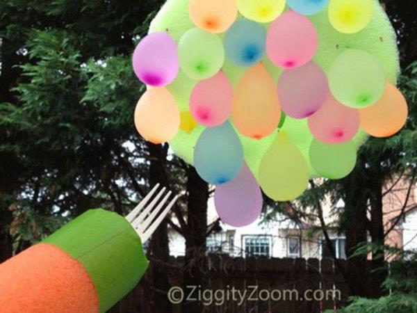 Water Balloon Jousting Game