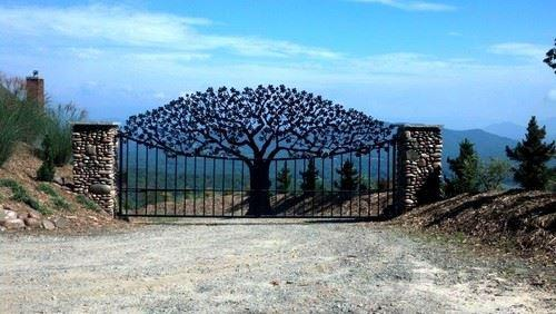 Ornamental Tree Gate