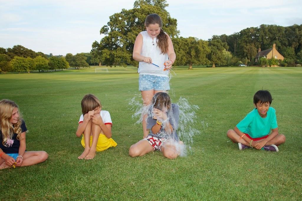 Duck, Duck, Splash Water Balloon Game
