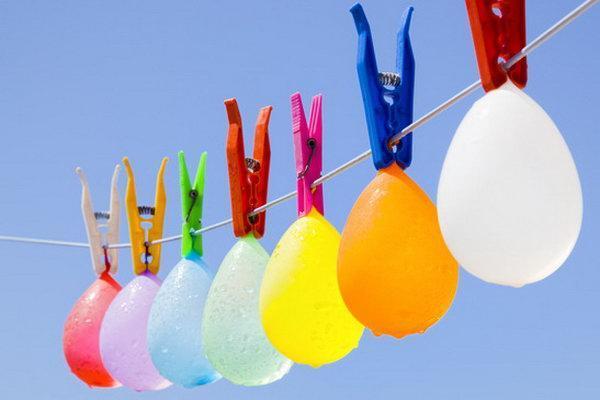 Hanging Water Balloon Game