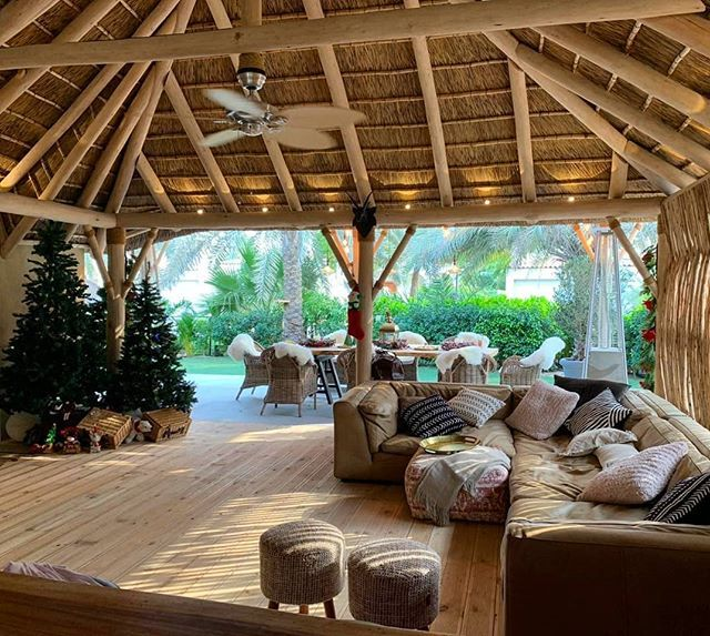 The Thatched Patio Enclosure