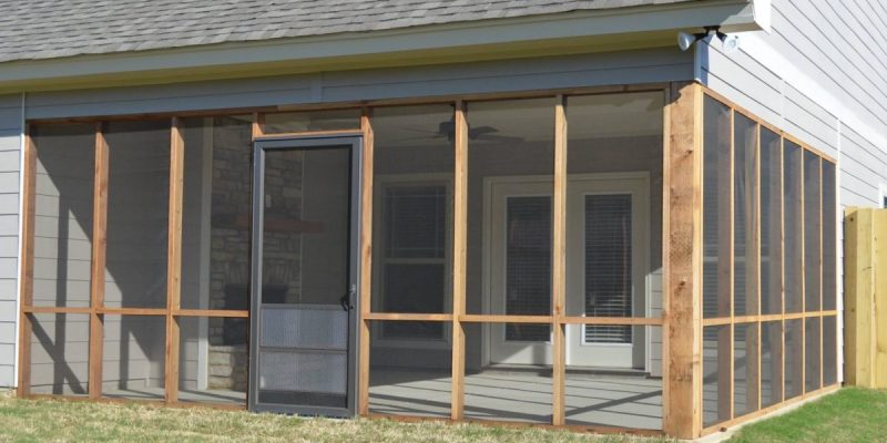 Build an Enclosed Patio