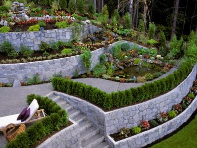 15 Stunning Retaining Wall Ideas