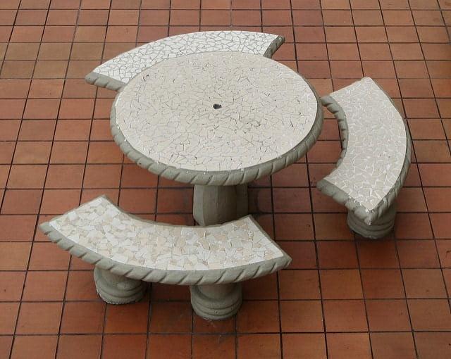 Sit Around the Garden Table
