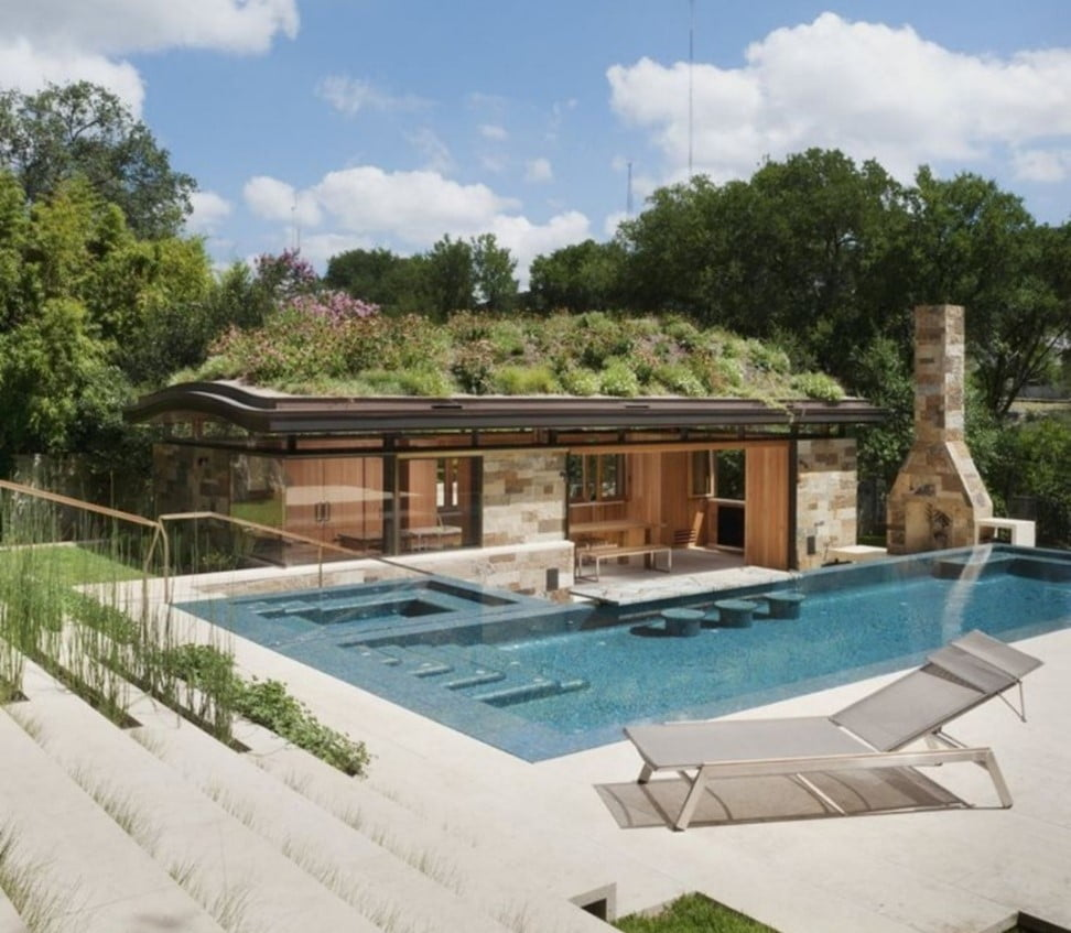 Green Roof Pool House