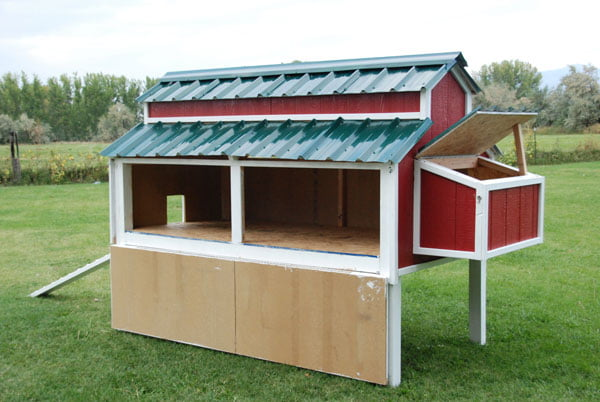 Home Depot's Chicken Coop Plan