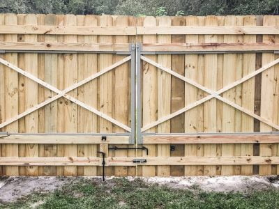 How Do You Strengthen a Fence Gate?