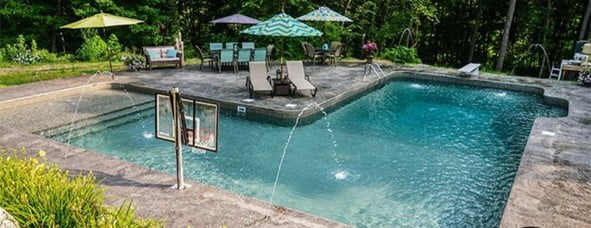 L- shaped Pool