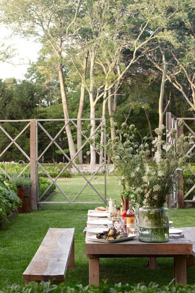 Mid Garden Dining Area