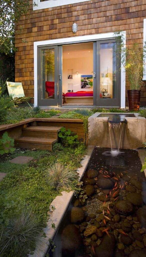 Pond Along with Your Home