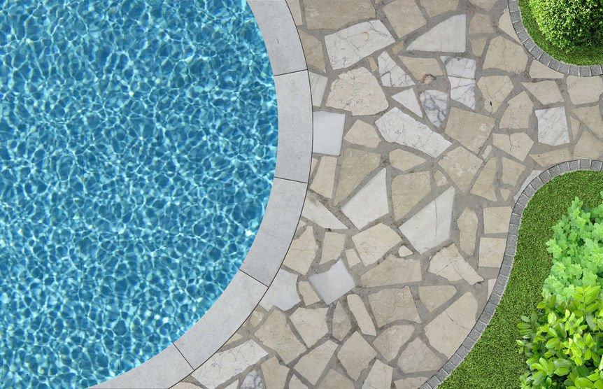 Pool Patio Garden