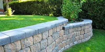 Retaining Wall for Irregular Garden