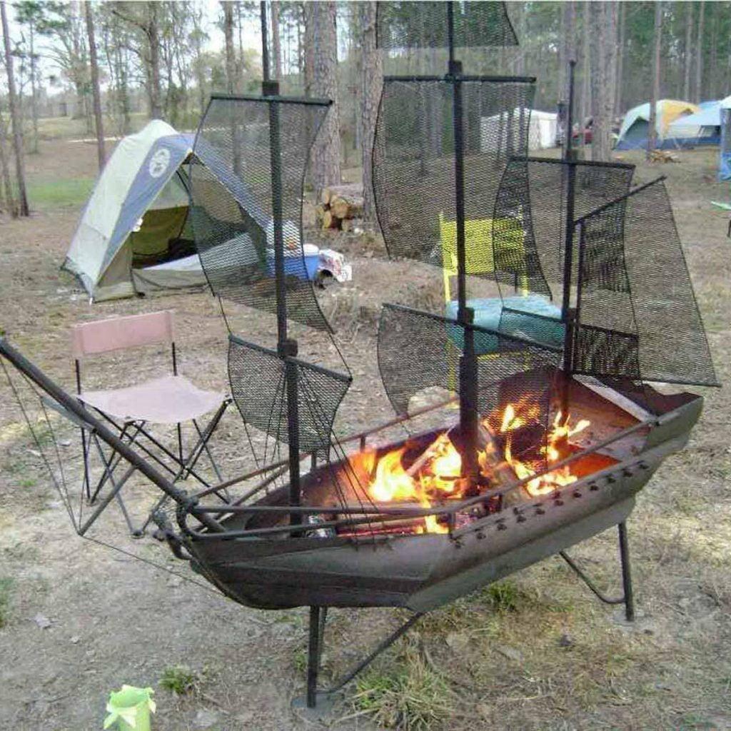 Steel Skill Fire Pit