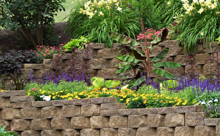 Traditional Retaining Walls