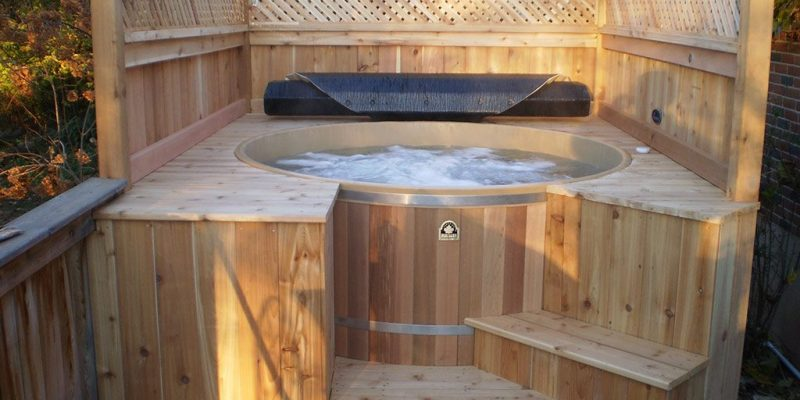 20 Great DIY Hot Tub Ideas That are Inexpensive to Build