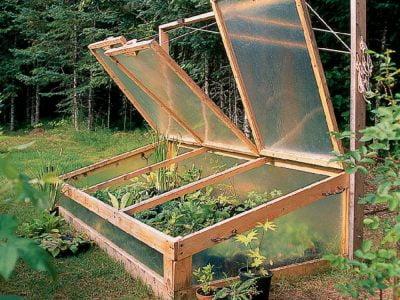 20 Greenhouse Cold Frame Designs