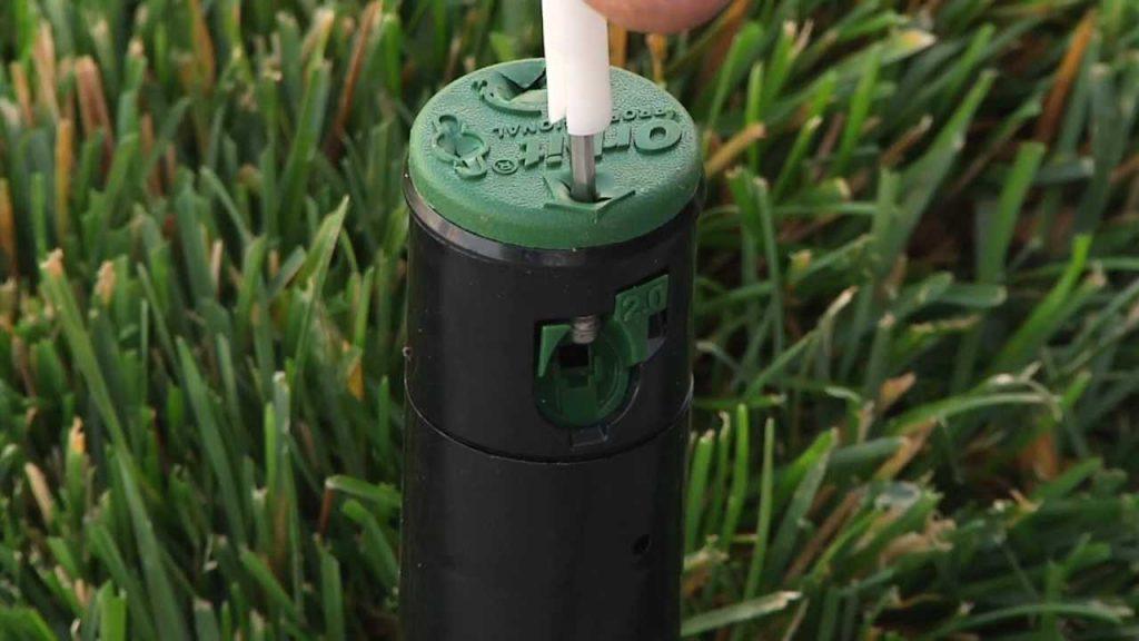 Adjust Sprinkler Heads