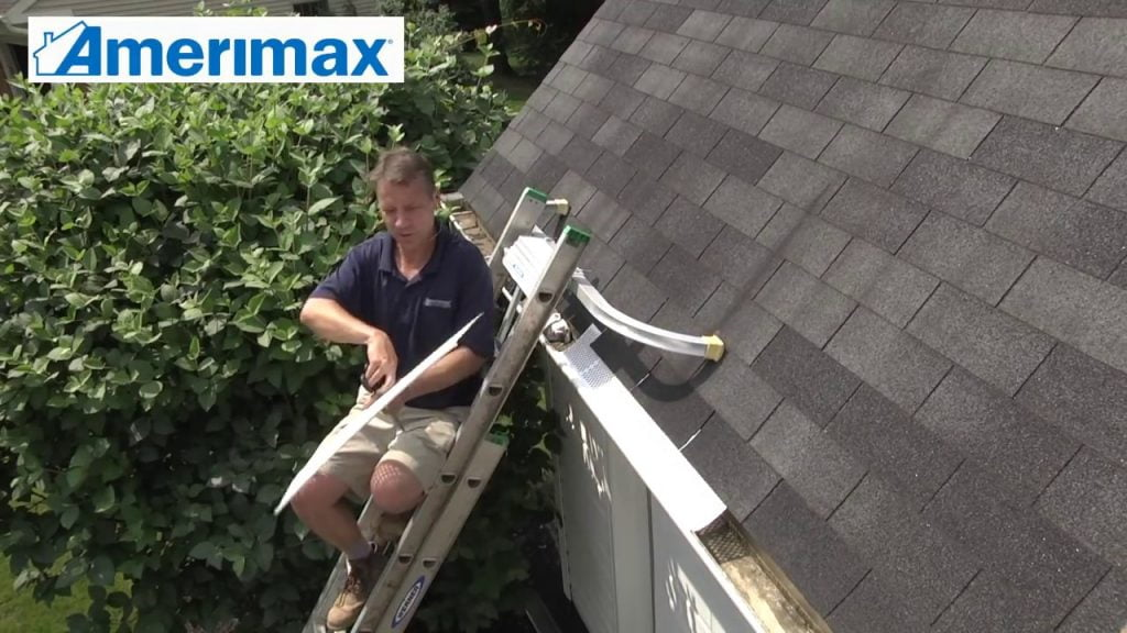 Amerimax Snap-In Gutter Guard Installation