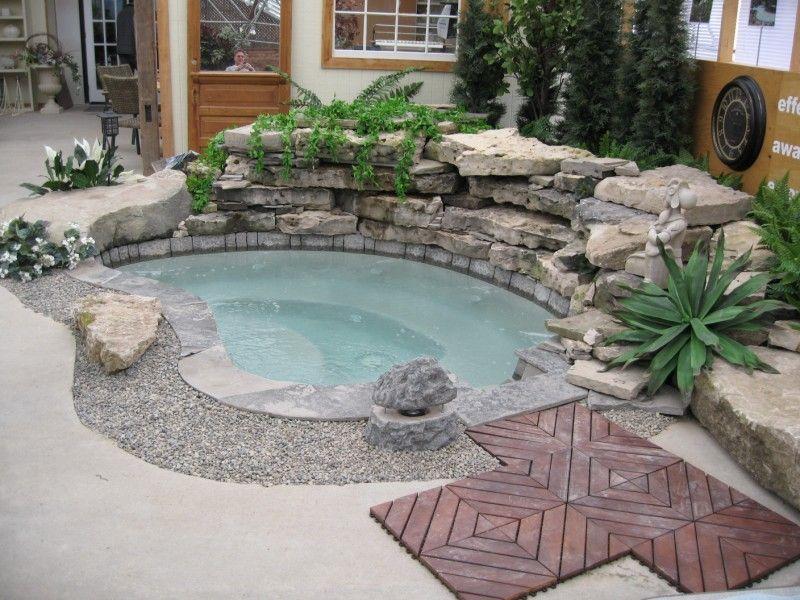 An Inground Hot Tub