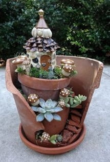Broken Pot Fairy Cottage