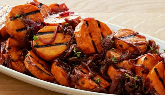 Caramelized Onions Sweet Potato Salad