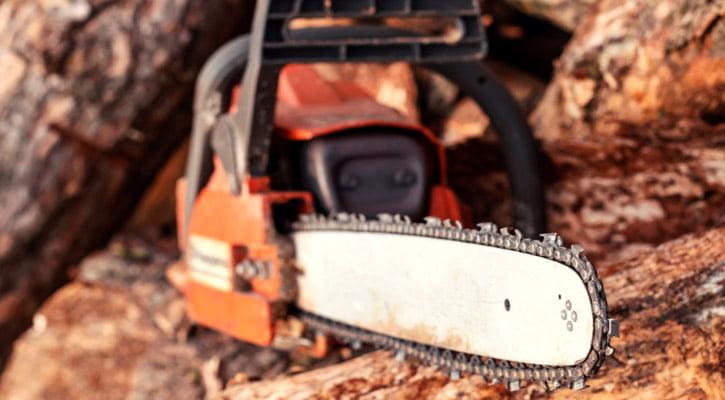 Chainsaw Kickback Explained