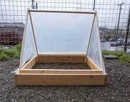 Cold Frame with Tent Shape