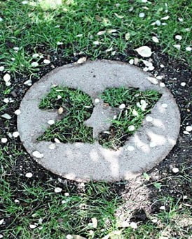 Concrete Paver House Numbers