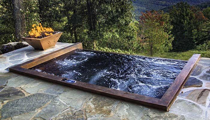 Custom Made Hot Tub