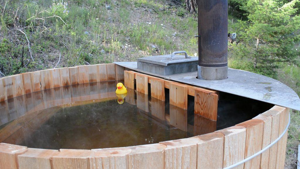 DIY Cedar Hot Tub