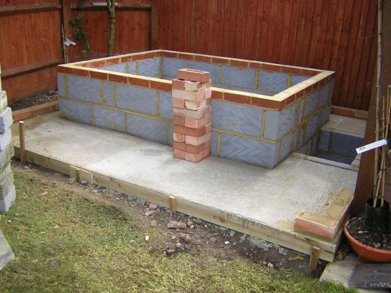 Block and Brick Hot Tub