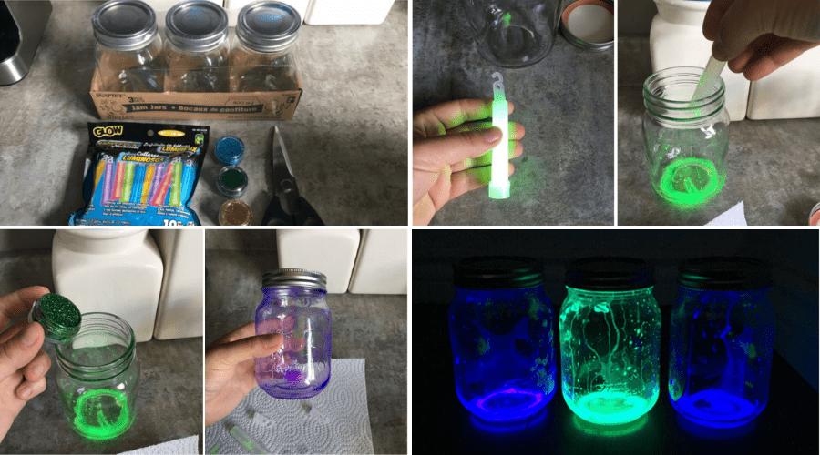Make Firefly Mason Jars