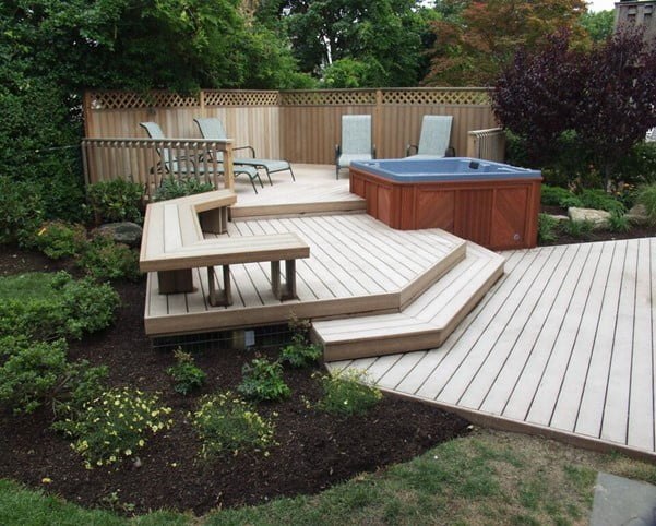 Multilevel Decking