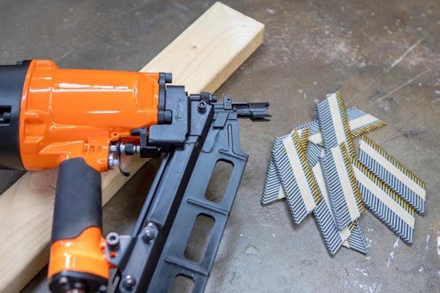 Nail Gun with Nails