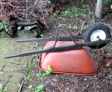Natural Solutions for Wheelbarrow Storge