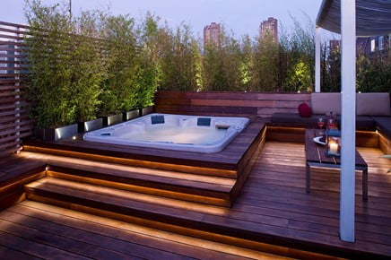 Open Rooftop Decks