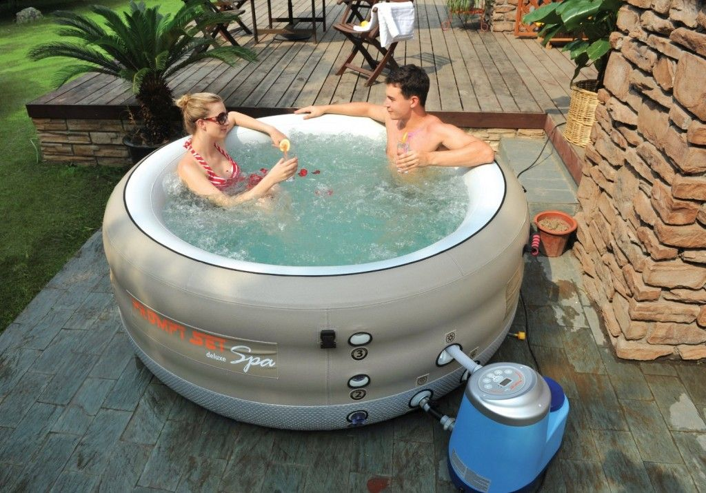 PORTABLE 4 PERSON SPA
