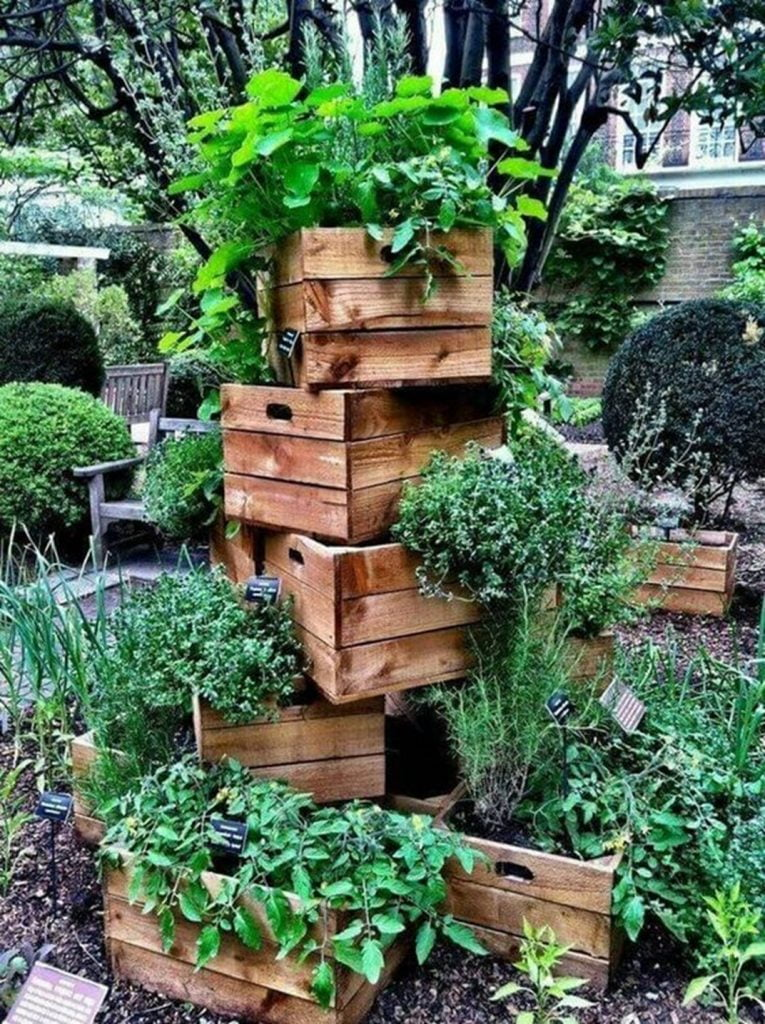 Pallet Crate Tower