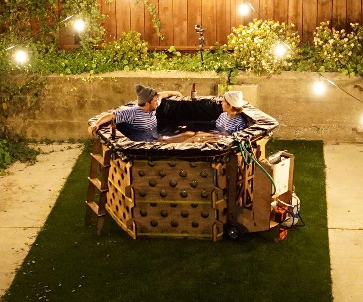 Portable DIY Hot Tub