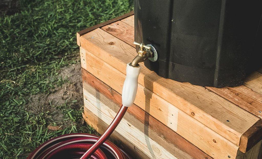 Rain Barrel Tap