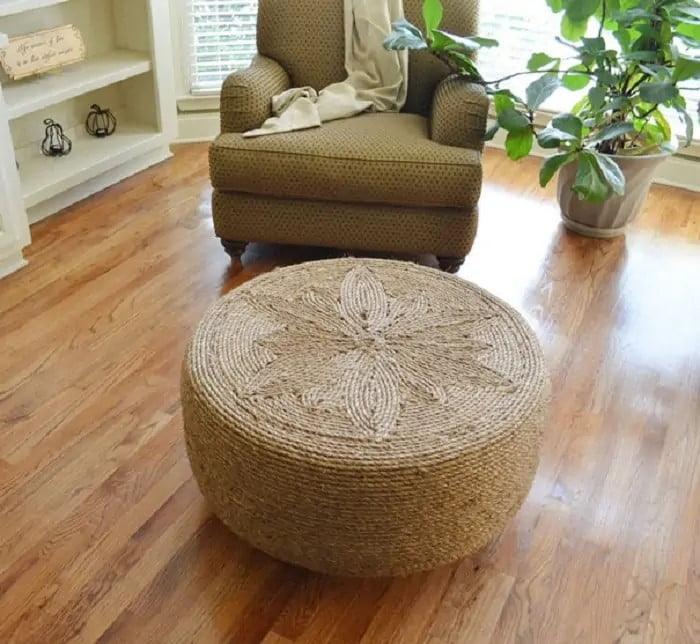Rustic Jute Table