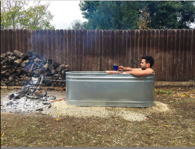 DIY Hot Tub for One