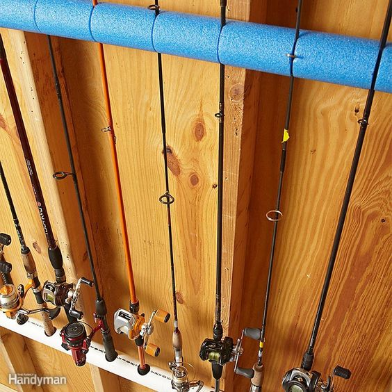 Fishing Rod Organizers