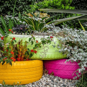 12 Best Tire Planter Ideas