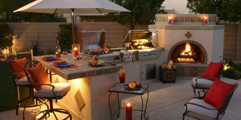 16 Amazing Covered BBQ Area Design Ideas 2020