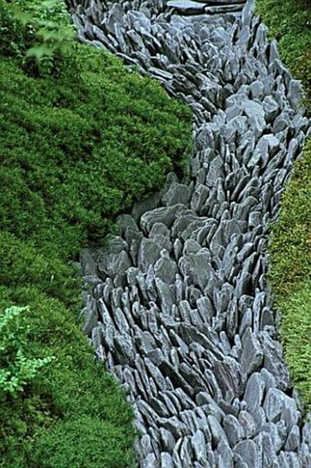 Japanese Dry Creek Bed