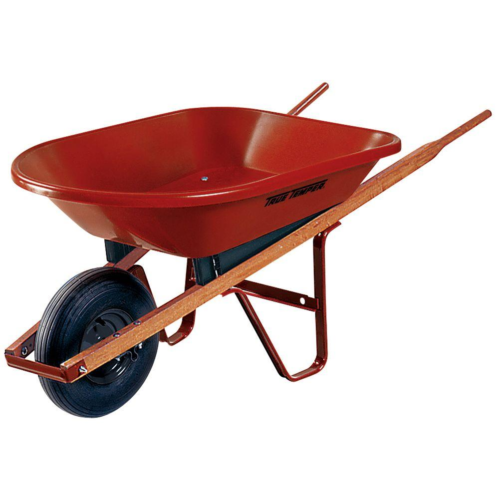 A One-Wheeled Wheelbarrow