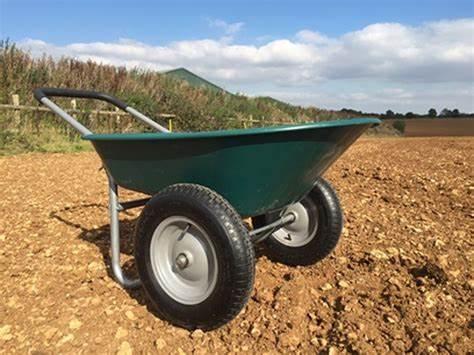 A Two-Wheeled Wheelbarrow
